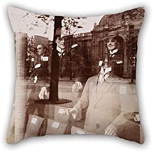 Artistdecor Oil Painting Eugène Atget - Magasin, Avenue Des Gobelins Pillow Cases ,best For Outdoor,car Seat,him,husband,dining Room,floor 20 X 20 Inches / 50 By 50 Cm(two Sides)