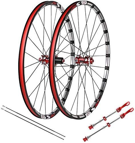 XIAOL MTB wielset mountainbike, 27,5 inch dubbele muur mountainbike hybride schijfrem snelle release verzegeld lagers 32 gat 7 8 9 10 snelheid