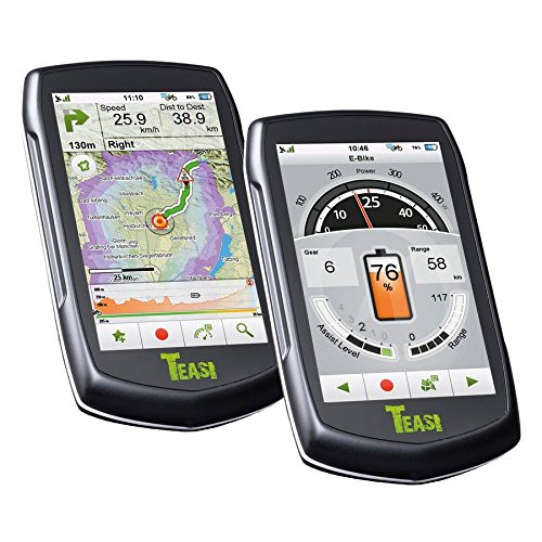 XLC 2972772000 Navigationsgerät, schwarz, 10 x 6 x 4 cm