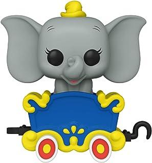 Funko Pop! Disney: Disneyland Resort 65th Anniversary – Dumbo on the Casey Jr. Circus Train Attraction Vinyl Figure - Funk...