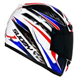 Suomy Casco para Moto Integral Apex Francia, Multicolor, L