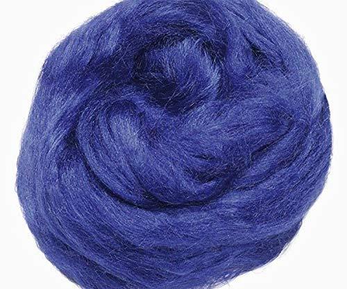Tussah-Seide 10g-Blau, Knorr Prandell, Wolle Zum Filzen, Textilien
