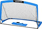 WEKEFON Portable Soccer Goal 5' x 3.1' Pop-Up Soccer Goal and Net for Backyard Games and Training for Kids and Teens Indoor or Outdoor Soccer Nets with Carry Bag, 1 Pack
