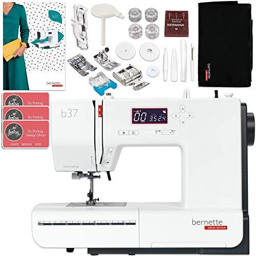Bernette B37 Computerized Sewing Machine Bundle w/ 5 Pressure Feet