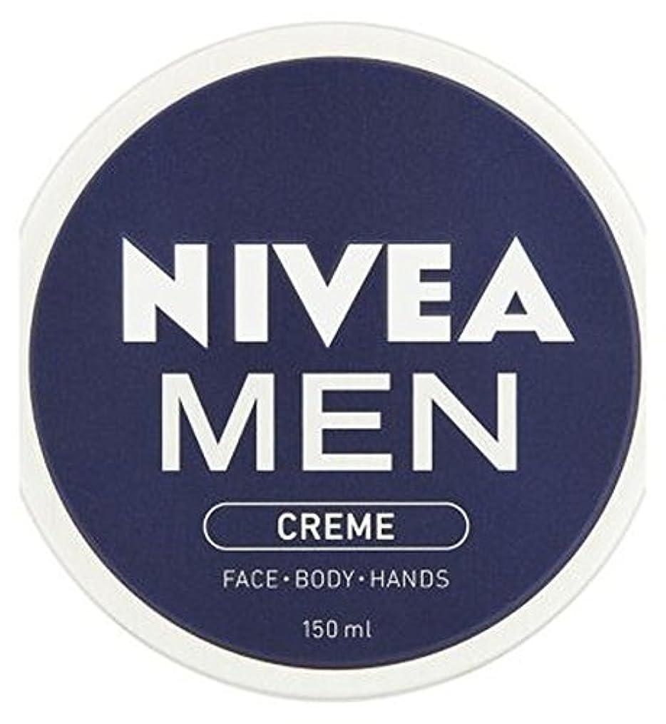 憤る追う粉砕するNIVEA MEN Creme 150ml - ニベアの男性が150ミリリットルクリーム (Nivea) [並行輸入品]