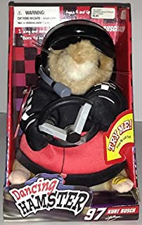 Gemmy Car Racing Dancing Hamster Curt Busch 97 - Sings