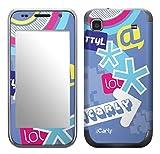 MusicSkins, MS-ICRL30275, iCarly - Web, Samsung Galaxy S 4G (SGH-T959V), Skin