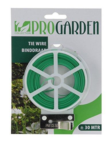 Pro Garden 30 m pour Plantes Fleurs Twist atado de Fil pour Jardin de Fixation avec Pince