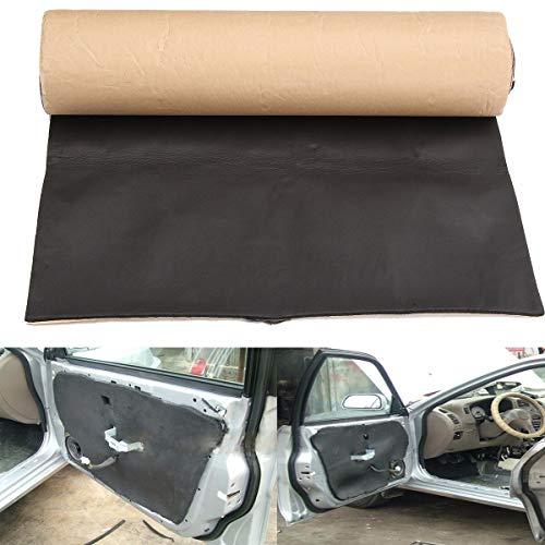 Without brand 1pc 200cmx50cm Car Sound Proofing Cotton Self Adhesive Gummi Deadening Anti-Lärm Schallschutz Cotton Hitze geschlossenzelligen Schaumstoff 5mm (Farbe : Schwarz)
