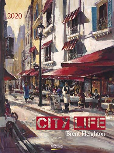 City Life - Kalender 2020 - Gallery-Format - Korsch-Verlag - Brent Heighton - Wandkalender 48 x 64 cm