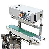 Macchina per Sigillatura Continua Verticale 800W, Sigillante per Plastica Automatico, Sigillatrice Automatica