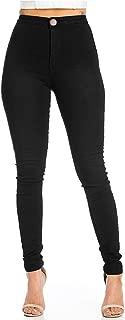 JYONE Jeans Damen, Skinny Jeans Denim High Waist Slim Leggings Röhrenjeans Bleistifthose Bleistift Hose