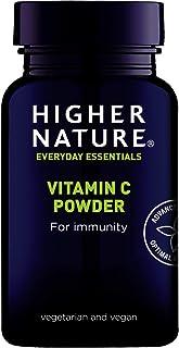 Higher Nature Buffered Vitamin C 60g Powder Vegan Food Supplement