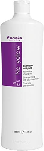 Fanola No Yellow Shampoo Ideal For Grey Superlightened Or Decoloured Hair, 1000ml product image