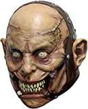 Psycho Lunatic Adult Latex Mask Insane Asylum Psych...