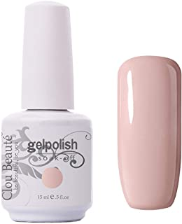 Clou Beaute Gelpolish 15ml Soak Off UV Led Gel Polish Lacquer Nail Art Manicure Varnish Pearl Pink 11033