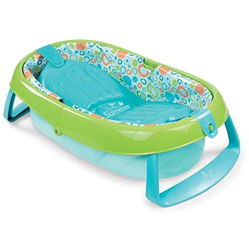 Baignoire gonflable, bébé Baignoire bébé Gonflable Gonflable Baignoire Épaississement Baignoire enfant ( Couleur : Vert )