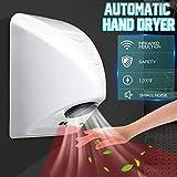 Händetrockner, handelsübliche automatische Händetrockner für die Wandmontage, automatische elektrische Induktionshandtrocknungsvorrichtung, gestanzt