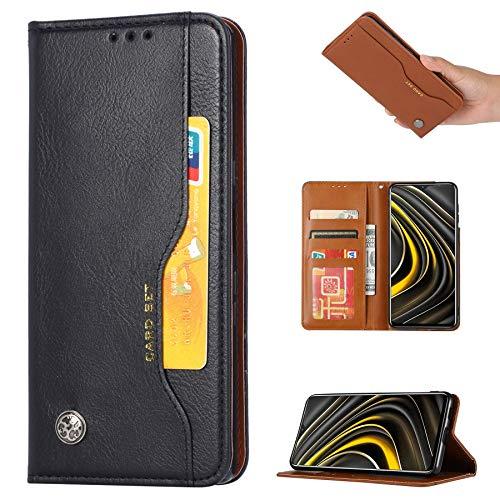 Jeelar Funda para Samsung Galaxy A32 4G,Movil Libro Cuero Carcasa con [Ranura para Tarjetas][Magnetico][Función de Soporte],Diseño Retro PU/TPU Premium Flip Cover Case