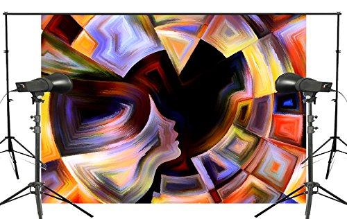 günstig PB Zone 7 × 5FT Exquisite abstrakte Malerei Foto Hintergrund Licht Hintergrund Art Studio… Vergleich im Deutschland