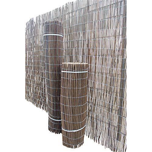 Top-Multi Weidenmatte Weidenzaun Sichtschutz Größe 1,8m x 3,0m