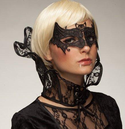 Panelize Fledermausmaske Vampirmaske Fledermaus Vampir Halloween Gothic