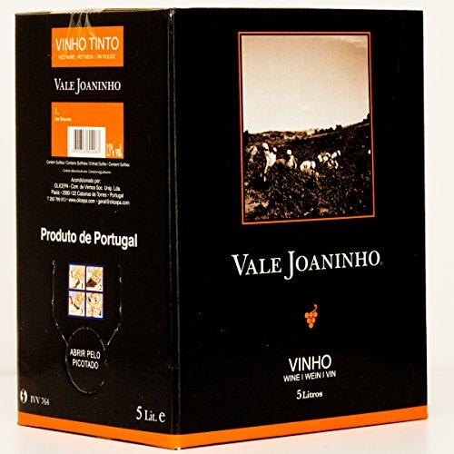 Vale Joaninho Tinto - Bag-In-Box- Rotwein, trocken aus Portugal (1x 5 Lit.)