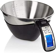 MYQXAZ Measuring Cup, Gray Handle, Precise Measuring Cup, Electronic Portable Scale, Kitchen Baking Cake (Color : Red)