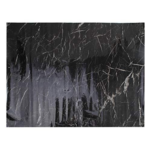 kengbi Fácil de decorar papeles pintados de 60 x 50 cm, adhesivo decorativo para pared, de granito, mármol, efecto de papel de contacto, autoadhesivo, papel de rodar (color: burdeos)