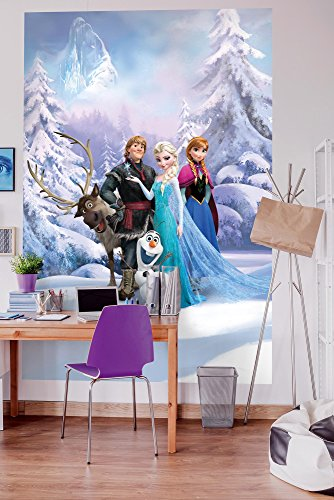 "Komar Fototapete""Frozen Winter Land"", 184 x 254 cm, 4 Teile"