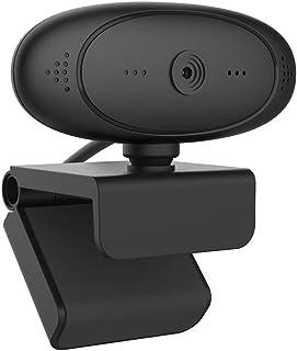 1080P كاميرا ويب مع ميكروفون مدمج، وكاميرا الكمبيوتر كاميرا الانترنت، التركيز التلقائي كاميرا للفيديو كونفرنس، تعليم العمل