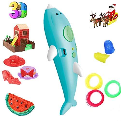 3D Stift, 3D Stifte mit LCD Bildschirm für Kinder, 3D Druck Stift Set für DIY, Handgefertigte Werke, Einzigartige Geburtstags-Und Weihnachtsgeschenke für Kinder Und Erwachsene
