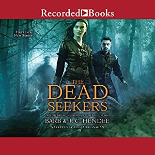 The Dead Seekers audiobook cover art