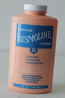 Bismoline Medicated Powder, 7 1/4 oz