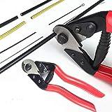 YNK Herramienta de reparación de cable de palanca de freno de bicicleta Pro Wire Cutter