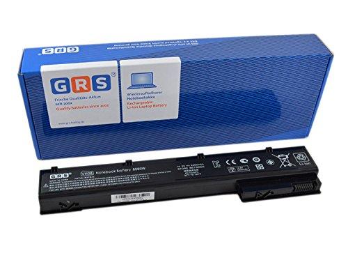 GRS Akku für Hp EliteBook 8560W, 8570W, 8760W, 8770W, ersetzt: 632113-151 632425-001 632427-001 HSTNN-F10C HSTNN-I93C HSTNN-IB2P HSTNN-LB2P QK641AA VH08 VH08X, 4400mAh/65Wh 14,8V
