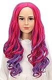 Karlery Kids Girls Audrey Wig Long Wave Pink...