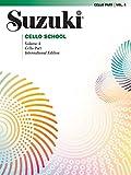 SUZUKI CELLO SCHOOL VOL 4 REV/: Cello Part