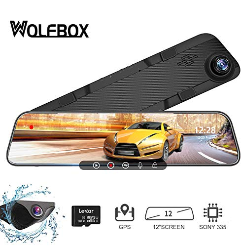 13 Best Mirror Dash Cam Review and Buying Guide 2020 23