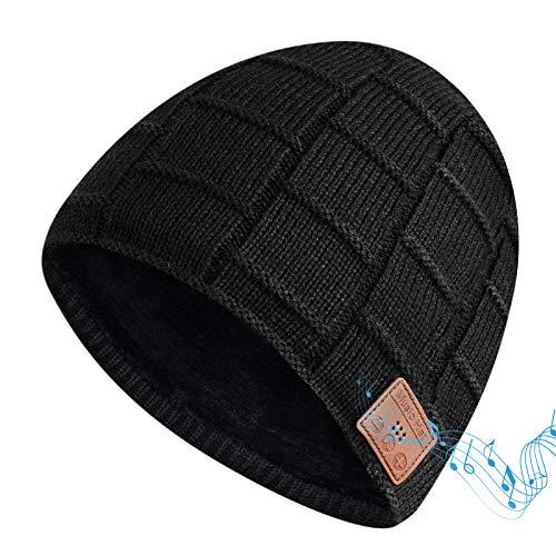 Bonnet Bluetooth EVERSEE, Cadeau de Noël Music Beanie pour...