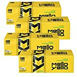 Mello Yello Citrus Flavored Soda Beverage Soft Drink - 4 Cases (48 Cans)