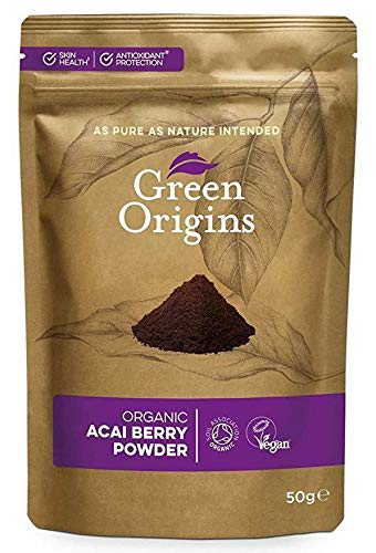 GREEN ORIGINS | Acai Berry Powder Organic | 3 x 50g (ES)