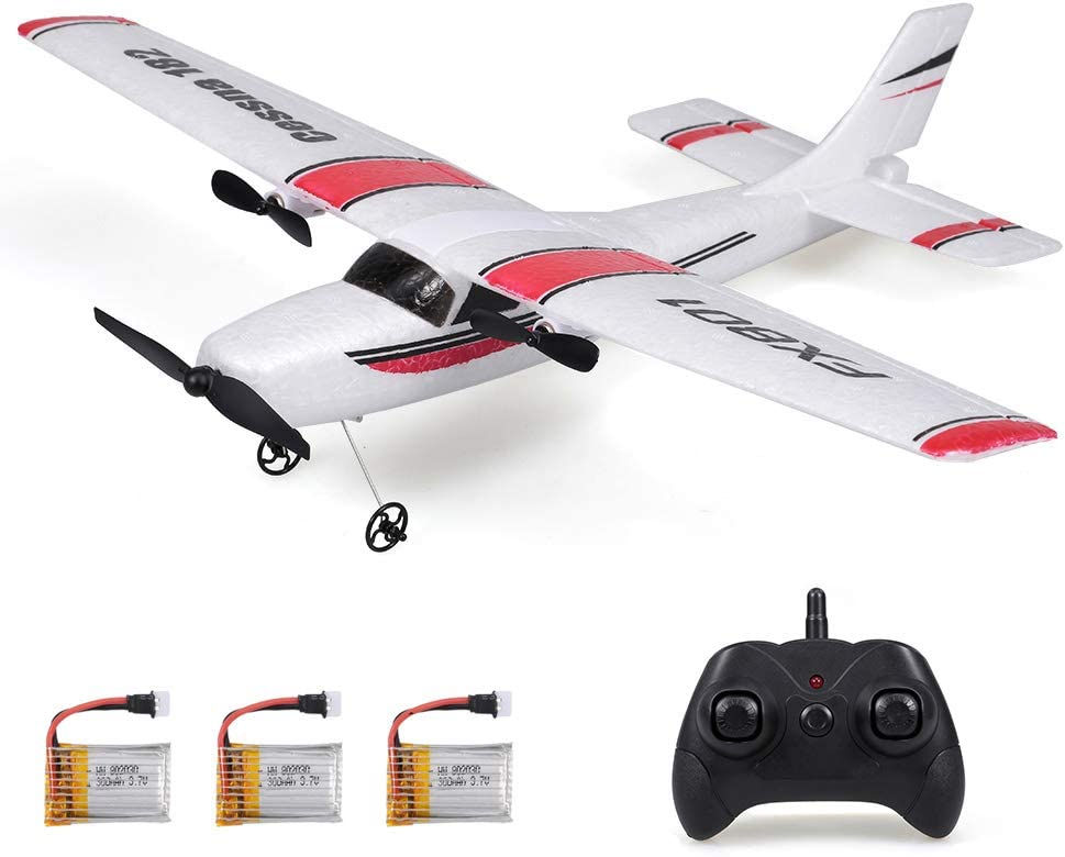 RC Airplane FX801 Plane 2.4Ghz 2CH DIY Remote Mail order Over item handling 6-Axis Gyro EPP