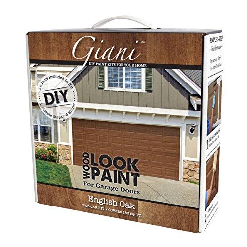 Wood Look Paint Kit for Garage Doors (English Oak)