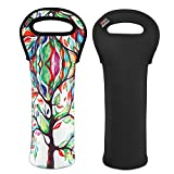 Nuovoware Wine Bag, Portable Wine Tote Holders and Carriers Insulated Bag for...