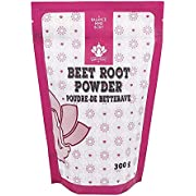 Dinavedic Beet Root Powder - 300g (10.6 oz) | Nitric Oxide Booster, Increase Stamina, Blood Flow, Faster Recovery & Total Body Health With This Raw Plant Based Vegan Superfood