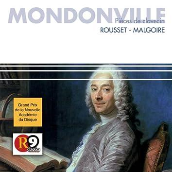 Mondonville : Pièces de Clavecin