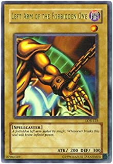 Yu-Gi-Oh! - Left Arm of The Forbidden One (LOB-123) - Legend of Blue Eyes White Dragon - Unlimited Edition - Ultra Rare