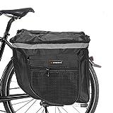 ASANMU Borsa per Bicicletta Portapacchi, Borse Bici Posteriore Laterali Multifunzionale, Grande...