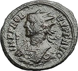 PROBUS 281AD Authentic Rare Ancient Roman Coin Temple of Roma or Venus i54879